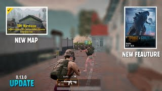 PUBG MOBILE: New Update 0.13.0 Beta Relesed, Team Death Match, Godzilla Event   gamexpro