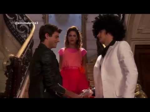 Violetta 2 - León y Violetta conocen a Diego y hace que se enojen entre ellos (02x01-02)