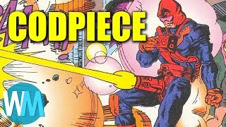 Top 10 Awkward Supervillain Names