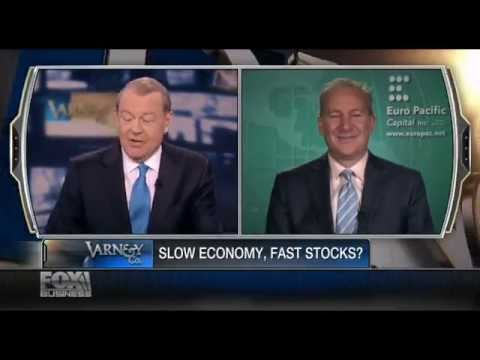 Peter Schiff: Ben Bernanke Has Injected Economy With &#039;Monetary Caffeine&#039; - Fox Business 5/9/2013