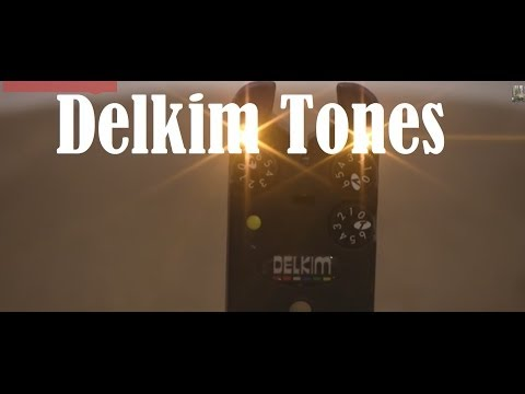 Delkim Alarm Txi  TX-I Tone Sounds for carp fishing 1-6
