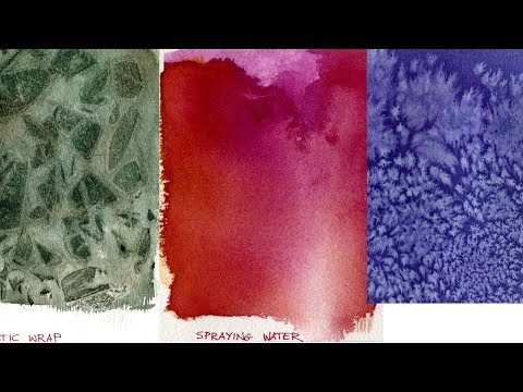 Watercolor Painting Lessons - Special Effects