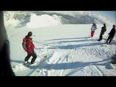 One day with Whistler Heli-Skiing