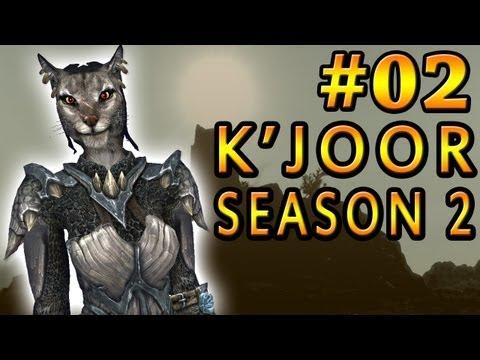 Dark Plays: Skyrim With K'joor Season 2 [02] - the Trek video