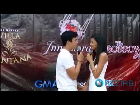 Elmo Magalona and Janine Guiterrez - GMA Afternoon Prime Block BlogCon