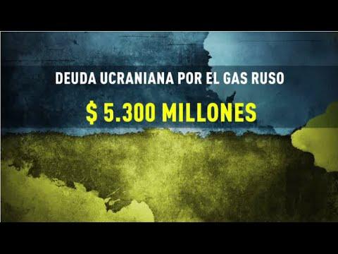 Infografía: La crisis del gas ruso en Ucrania, paso a paso