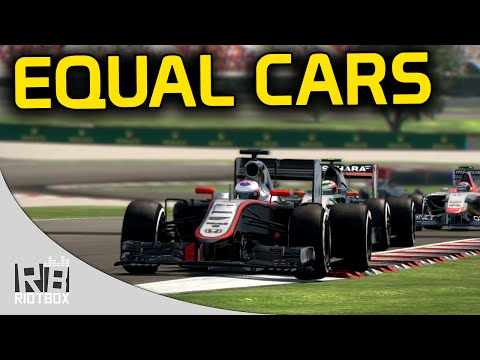 F1 2014 Equal Cars Mod: Spain - Jenson Button, 2015 McLaren Honda Gameplay