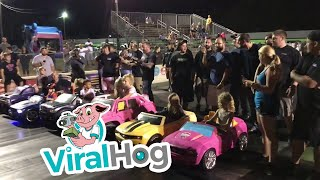 Power Wheels Race || ViralHog