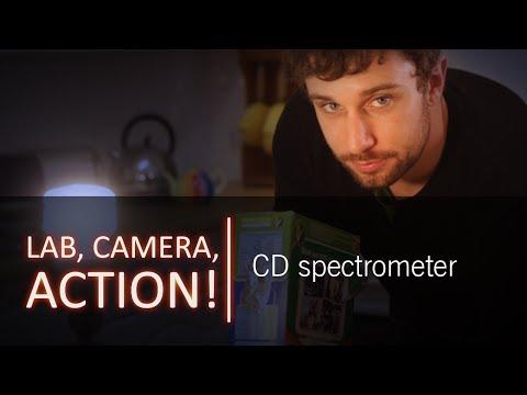 Make your own CD spectrometer
