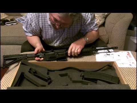 Chiappa m four-22 LR Rimfire Carbine Unboxing / Review