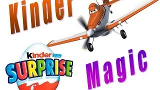 HUEVOS SORPRESA KINDER,AVIONES,MINNIE MOUSE,MAGIC KINDER.KINDER SURPRISE EGGS PLANES DISNEY