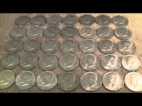 Silver Unboxing from eBay - 40 percent US Halves