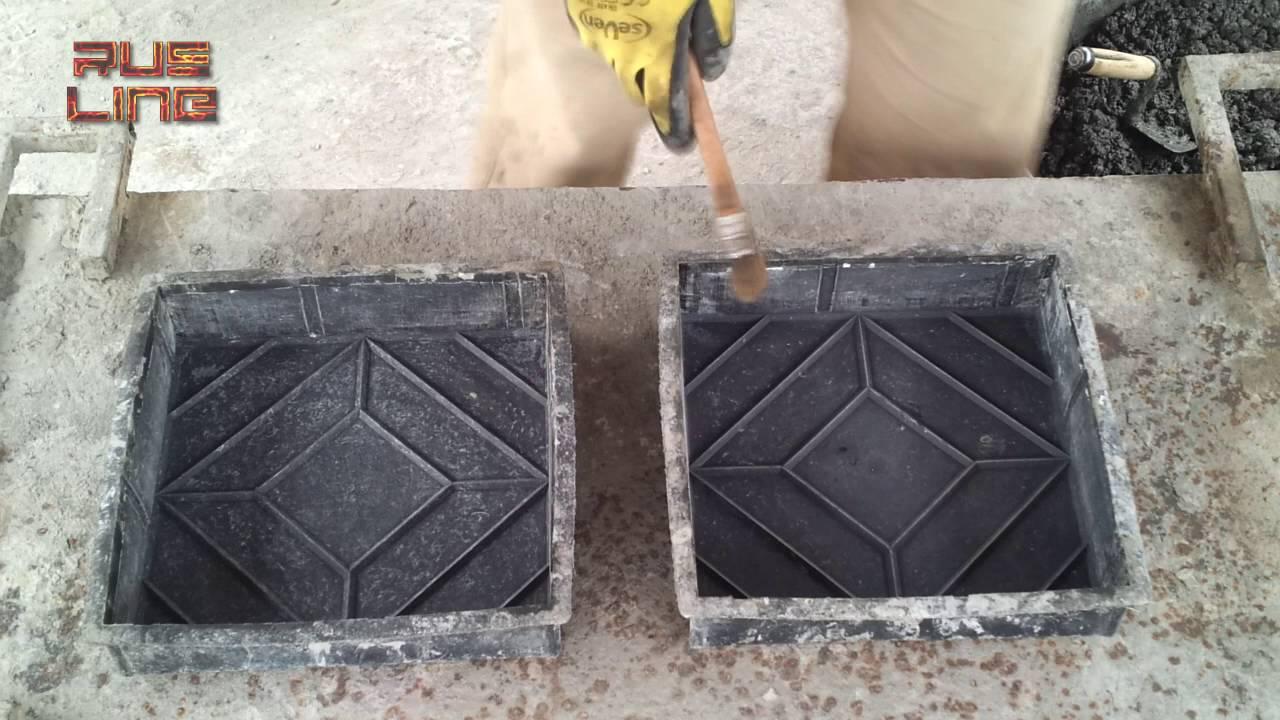 Изготовление тротуарной плитки своими руками без вибростола 94