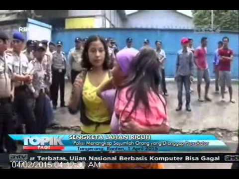 [ANTV] TOPIK Warga Hadang Polisi yang Merangsek Masuk