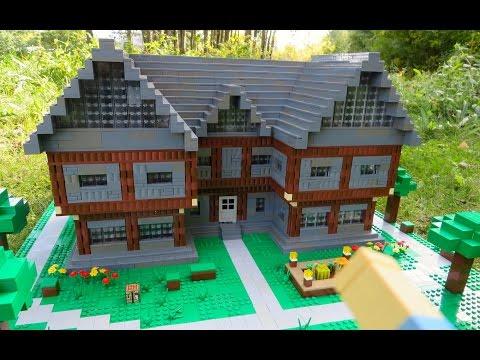 LEGO Minecraft Steve's House
