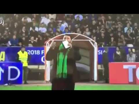 Ziarat e Imam Hussain a.s recited in football Stadium during Fifa World Cup match  2018