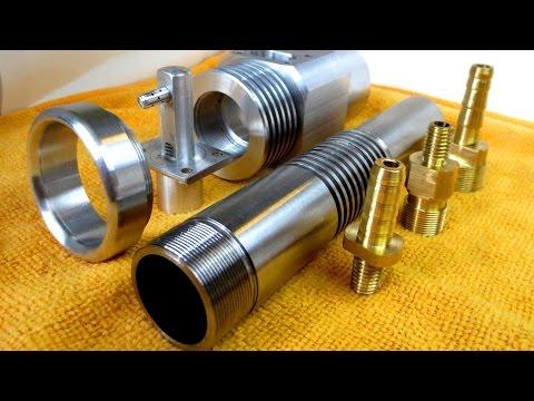 Газовая горелка ИН1 с наддувом - изготовление деталей