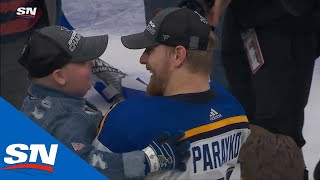 Laila Anderson, Colton Parayko Celebrate Winning The Stanley Cup For Blues