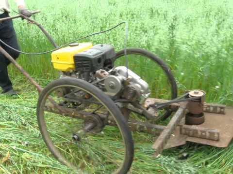 Самоделки своими руками для сельского дома видео мини трактора