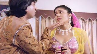 Anuradha Patel flirts with Shakti Kapoor to save Govinda - Gentleman   Scene 13/20