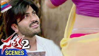 Sharwanand makes fun of Anaika Soti | Satya 2 Movie Scenes | Telugu Filmnagar