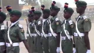 Just look at this wonderful Performance by these kids at the Nigerian Military School #Nigerian Army