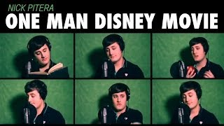 """One Man Disney Movie"" Nick Pitera - Disney Medley"