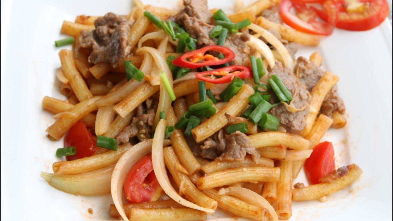 Quán ăn, ẩm thực: Quán Nui Xào, Mì Xào Ngon Quận 7 Maxresdefault