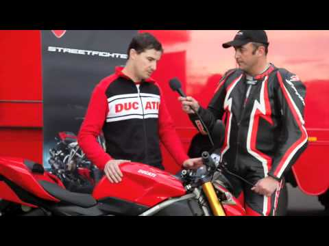 2009 Ducati Streetfighter and Streetfighter S launch Video