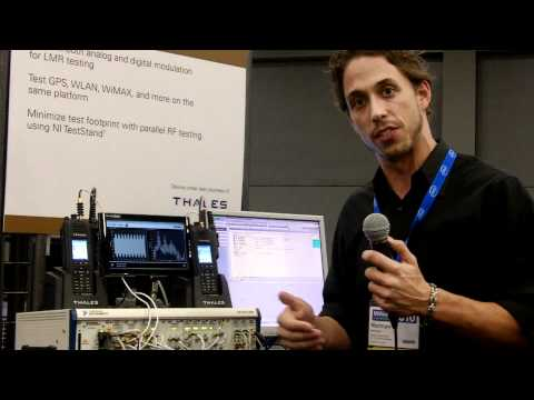 Thales Radio Demo with TestStand