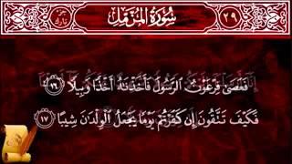 Surat Al Muzzammil 73 سورة المزمل   Children Memorise -Kids Learning - Almishawi with Children