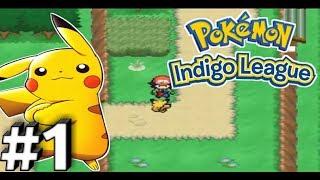 Pokemon Indigo League Walkthrough Gameplay Part 1 - I Choose You