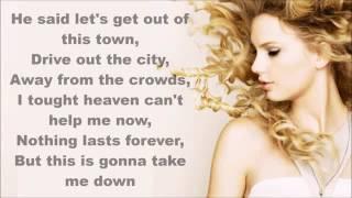 Taylor Swift -wildest Dream  (lyrics )