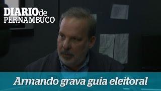 Armando Monteiro cancela agenda e grava guia eleitoral