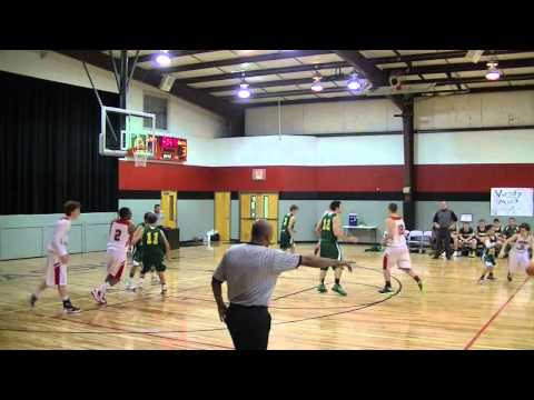 "Grady ""Ike"" Ingle highlight tape covenant classical school 2012-2013"