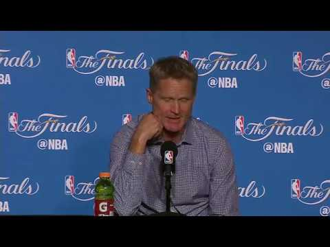 Steve Kerr Tyronn Lue Nba Finals Game 2 Press Conference