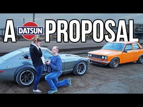 Datsun PROPOSAL - Secret Photo Shoot Engagement!