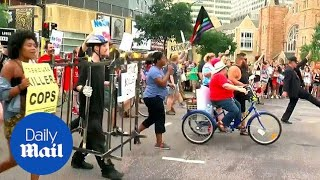 Pride parade becomes protest in Minneapolis after police shooting - Daily Mail