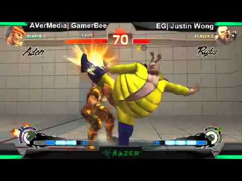 SS2k12 - Justin Wong vs. Gamerbee - Greatest match in Shadowloo Showdown 2k12!