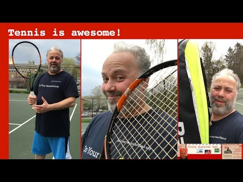 Tennis is awesome! Do you play / watch?