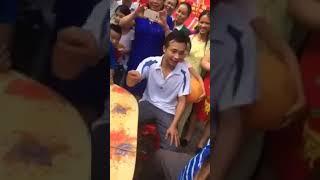 hướng dẫn chơi trò lày cỏ của người dân tộc Tày ( Cao Bằng)