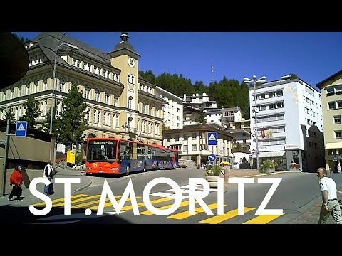 SWITZERLAND: St. Moritz village [HD]