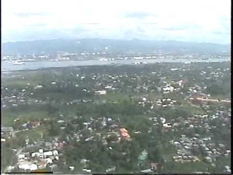 Landing at Mactan Cebu International Airport Cebu, Philippines