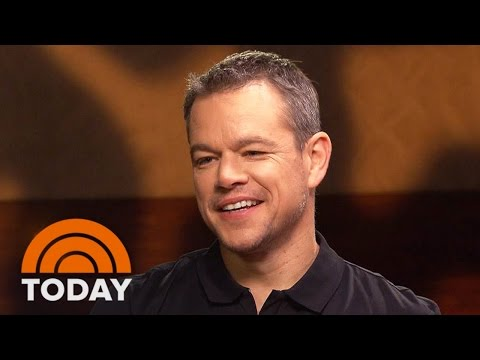 Matt Damon Talks Being Alone In 'The Martian' | TODAY