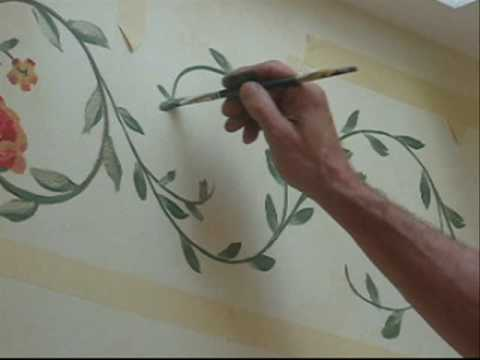 Painting Borders On Glass