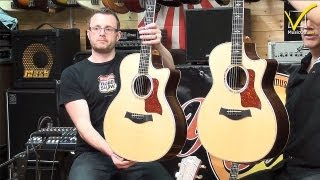 Taylor Guitars - Body Shapes