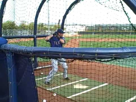 Jarrod Saltalamacchia batting practice Video