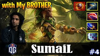 SumaiL - Monkey King Safelane | with My BROTHER | Dota 2 Pro MMR Gameplay #4