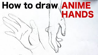 How to draw ANIME HANDS by Veteran Animator HINOE Japanese manga tutorial ひのえさんのアニメ風手の描き方講座