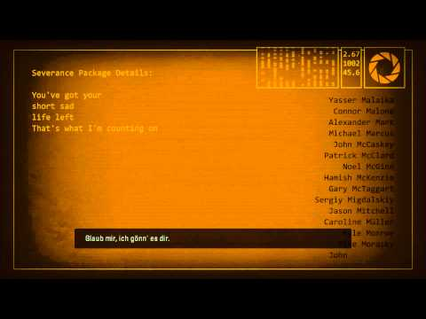 Portal 2 Ending Song /w mp3 download